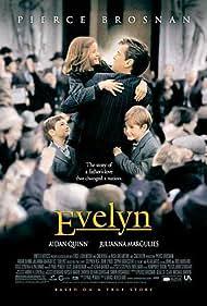 Pierce Brosnan, Hugh McDonagh, Sophie Vavasseur, and Niall Beagan in Evelyn (2002)