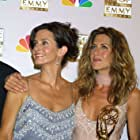 Jennifer Aniston and Courteney Cox at an event for The 54th Annual Primetime Emmy Awards (2002)