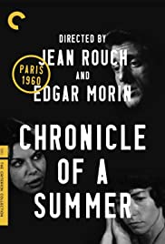 Chronicle of a Summer(1961) Poster - Movie Forum, Cast, Reviews