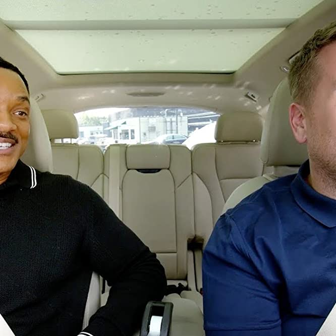 Will Smith and James Corden in Carpool Karaoke (2017)