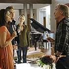 Don Johnson, Amber Valletta, Scott Michael Foster, and Miranda Rae Mayo in Blood & Oil (2015)