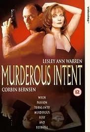 Murderous Intent Poster
