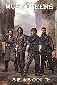Tom Burke, Santiago Cabrera, Luke Pasqualino, and Howard Charles in The Musketeers (2014)