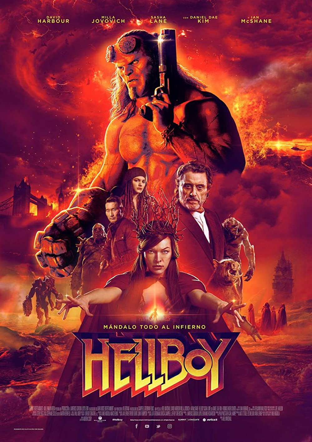 Download Hellboy 2019 Hindi ORG Dual Audio 1080p BluRay ESub 2.1GB