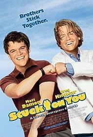 Matt Damon and Greg Kinnear in Stuck on You (2003)