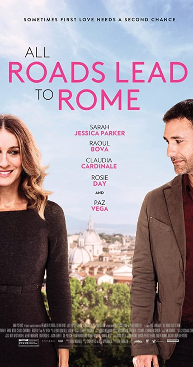 Visi keliai veda į Romą / All Roads Lead to Rome (2015) online