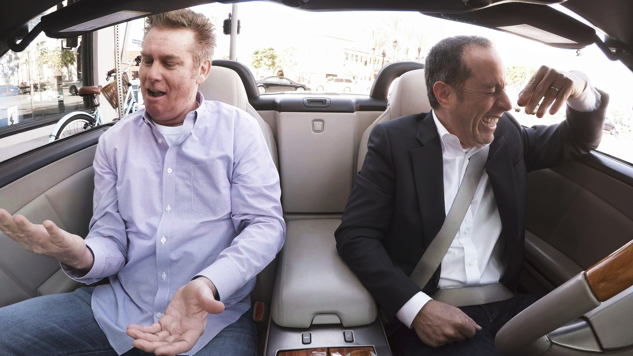 Jerry Seinfeld and Brian Regan in Comedians in Cars Getting Coffee (2012)