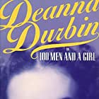 Deanna Durbin in One Hundred Men and a Girl (1937)