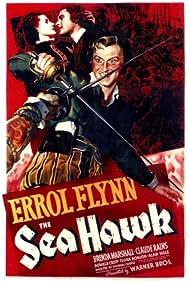 Errol Flynn and Brenda Marshall in The Sea Hawk (1940)