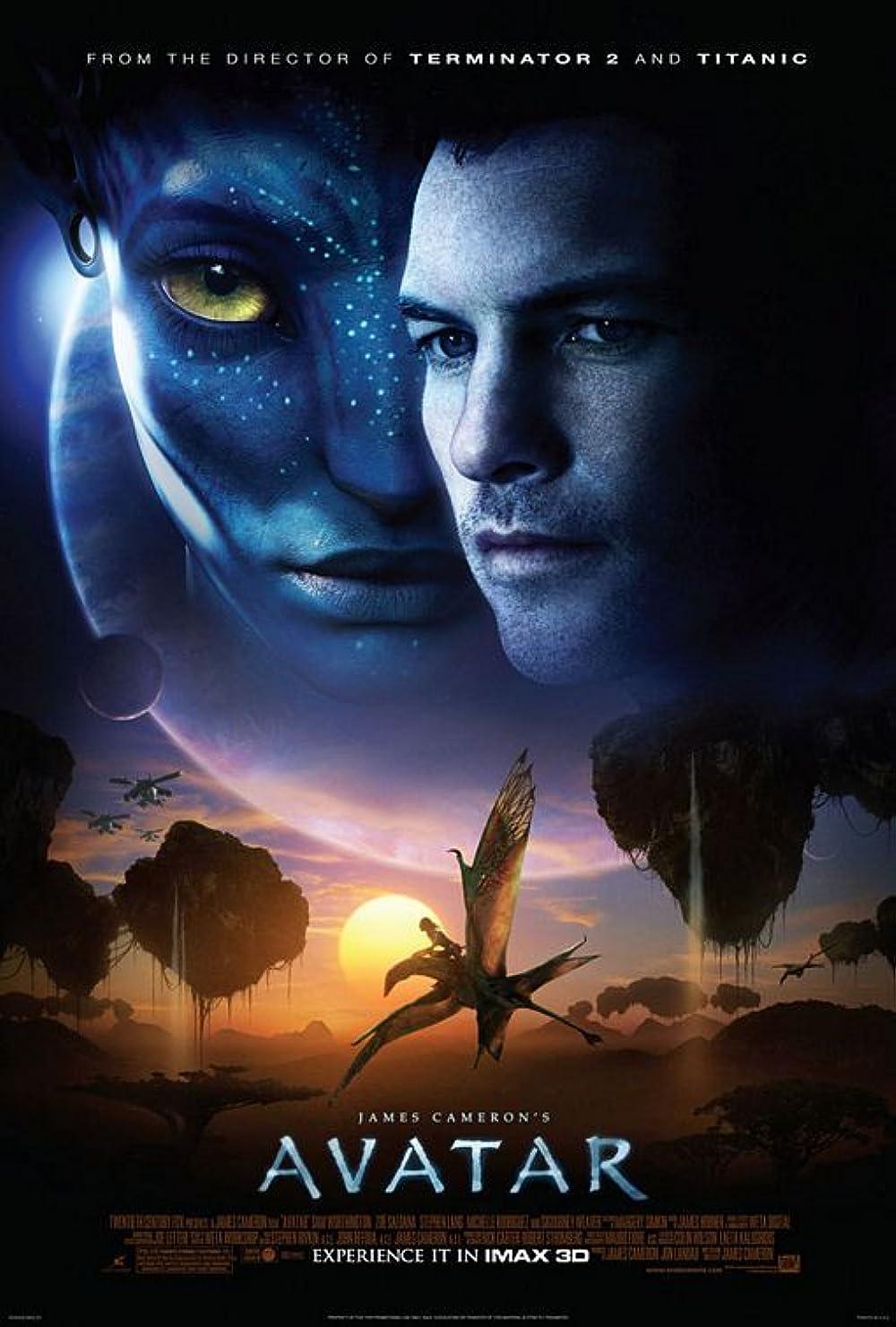 Plakat filma Avatar (2009)