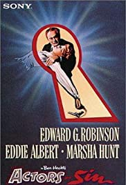Actor's and Sin (1952) starring Edward G. Robinson on DVD on DVD