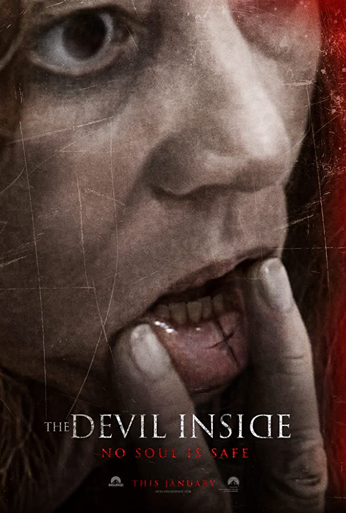 The Devil Inside 2012 Hindi ORG Dual Audio 300MB BluRay ESubs Download
