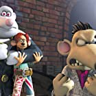 Kate Winslet, Hugh Jackman, Bill Nighy, and Andy Serkis in Flushed Away (2006)