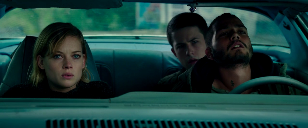 Dylan Minnette, Jane Levy, and Daniel Zovatto in Don't Breathe (2016)