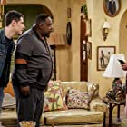 Marla Gibbs, Cedric the Entertainer, and Max Greenfield in The Neighborhood (2018)