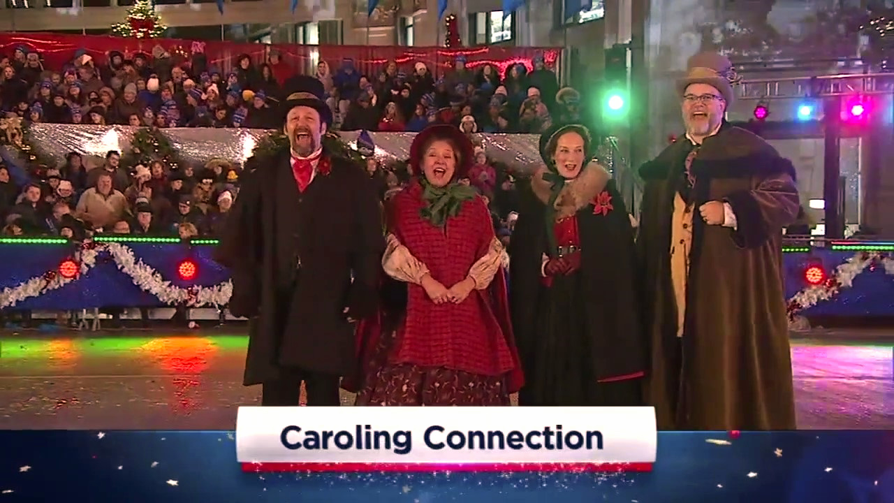 The Caroling Connection featured in The Magnificent Mile Lights Festival (2017)