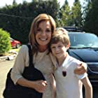 Meeting Linda Gray on the set of Perfect Match