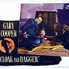 Gary Cooper, Lilli Palmer, and Vladimir Sokoloff in Cloak and Dagger (1946)