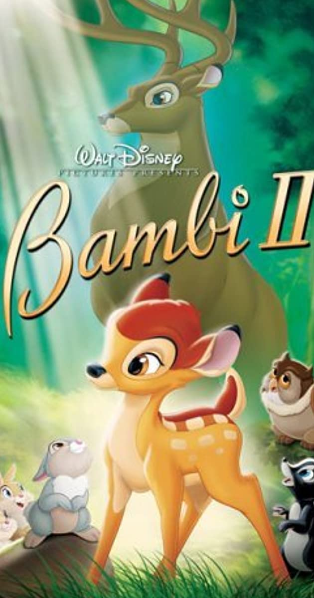 bambi ii  video 2006