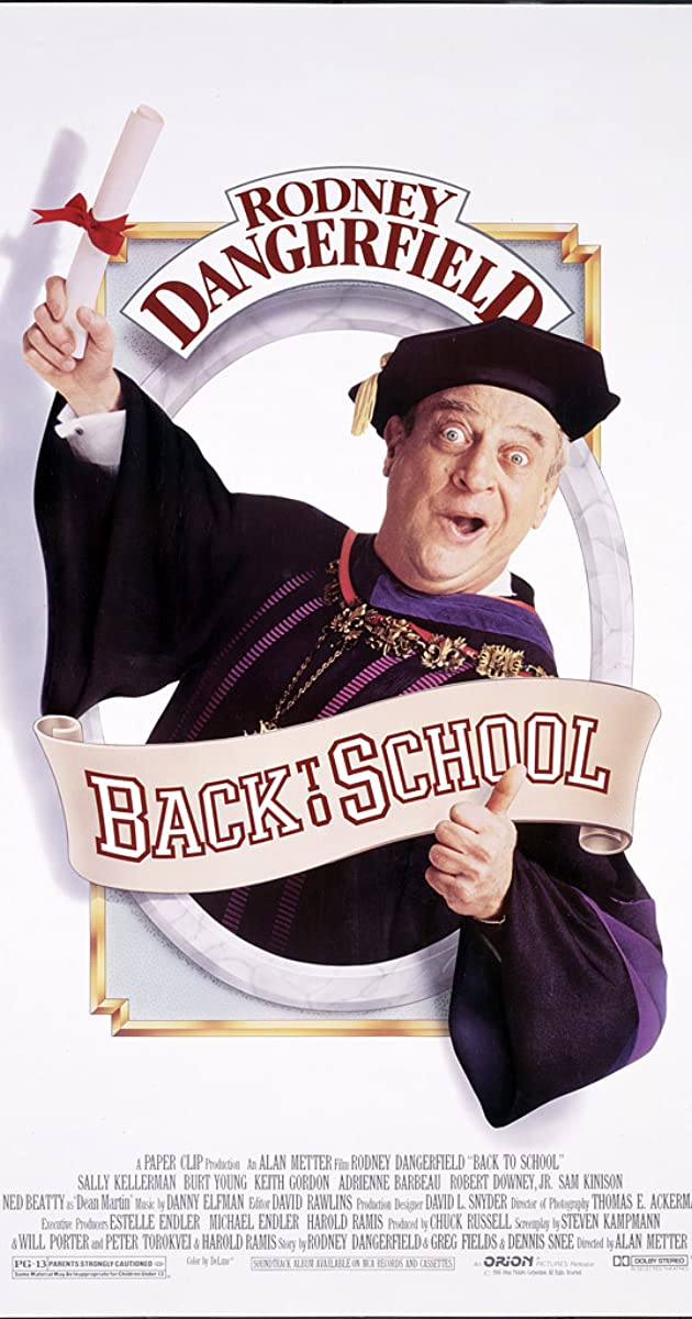 Back to School (1986)   Rodney Dangerfield as Thornton Melon   IMDb