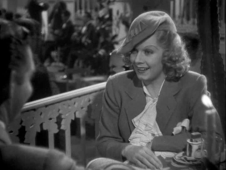 Clark Gable and Jean Harlow in Wife vs. Secretary (1936)