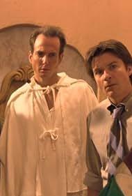 Jason Bateman, Will Arnett, and Tony Hale in Arrested Development (2003)