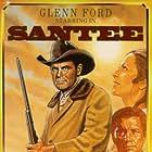 Glenn Ford, Jay Silverheels, and Dana Wynter in Santee (1973)