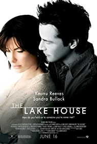 Sandra Bullock and Keanu Reeves in The Lake House (2006)