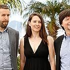 Ken Burns, David McMahon, and Sarah Burns at an event for The Central Park Five (2012)