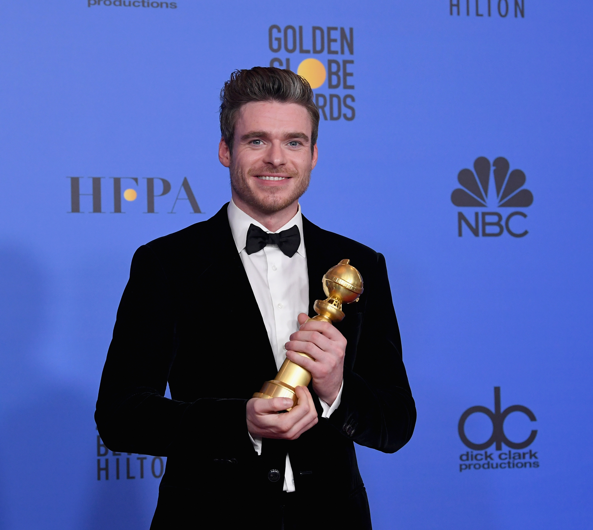 Richard Madden at an event for 2019 Golden Globe Awards (2019)
