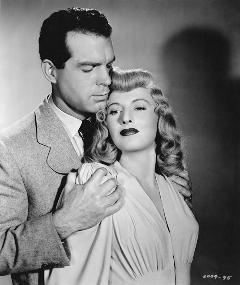 Barbara Stanwyck and Fred MacMurray in Double Indemnity (1944)