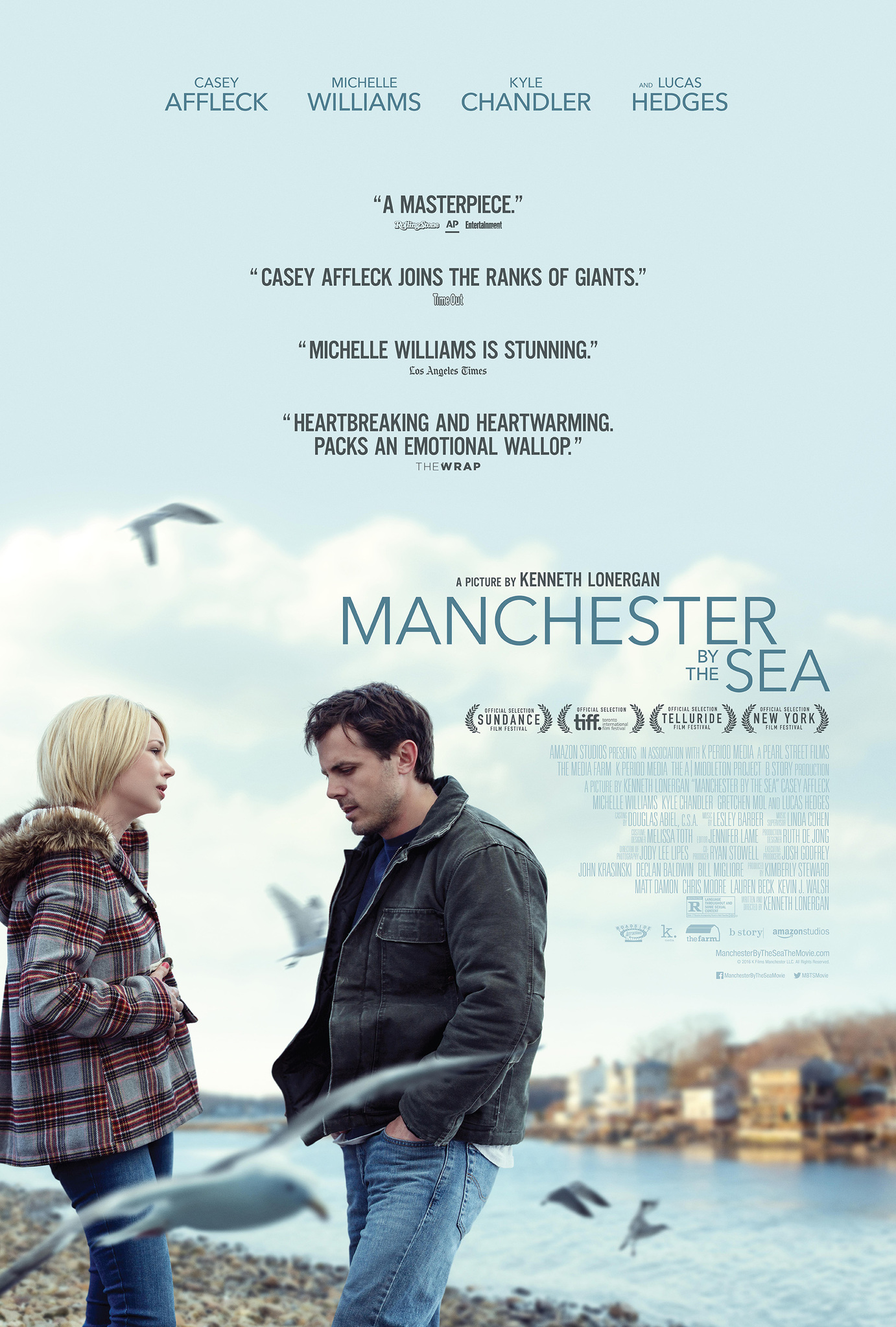 Image result for manchester by the sea movie poster""