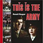 Ronald Reagan and Joan Leslie in This Is the Army (1943)