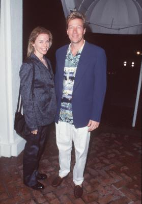 Jack Wagner and Kristina Wagner at an event for Melrose Place (1992)