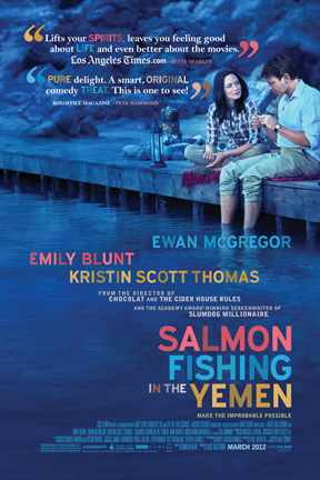 Ewan McGregor and Emily Blunt in Salmon Fishing in the Yemen (2011)