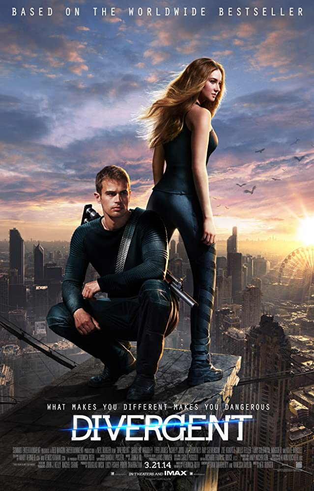 Divergent 2014 Dual Audio Hindi 511MB BluRay Download