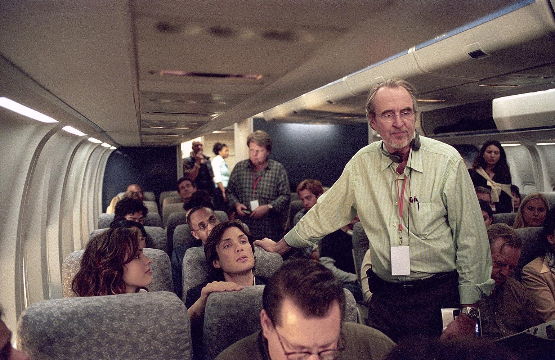 Wes Craven, Cillian Murphy és Rachel McAdams a vörösszem-szemben (2005)
