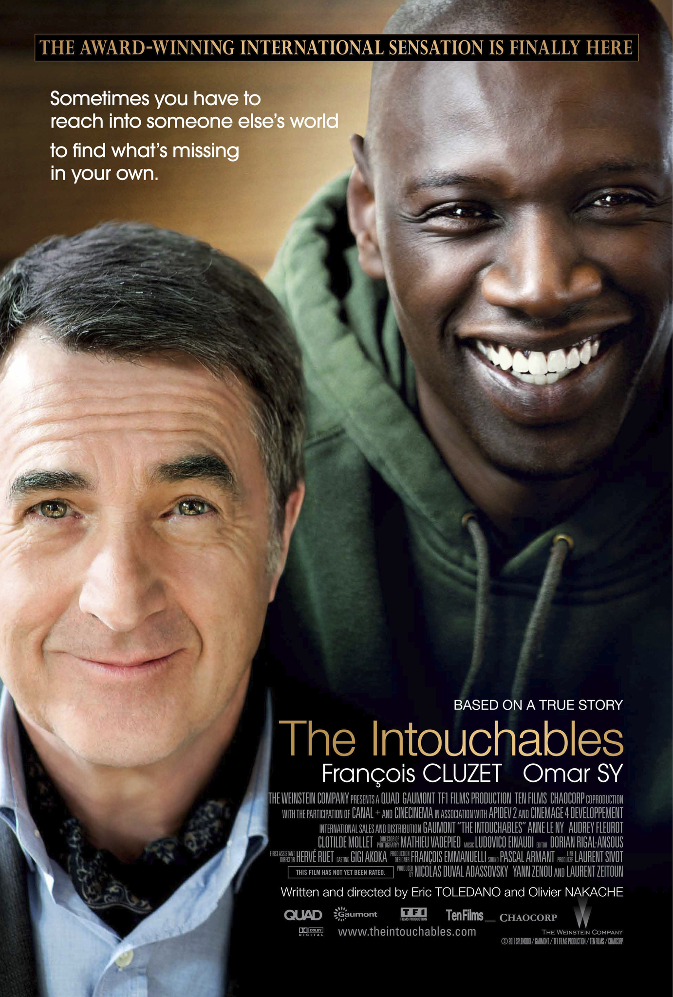 Image result for the intouchables US poster