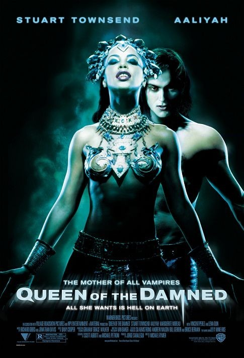 Aaliyah and Stuart Townsend in Queen of the Damned (2002)