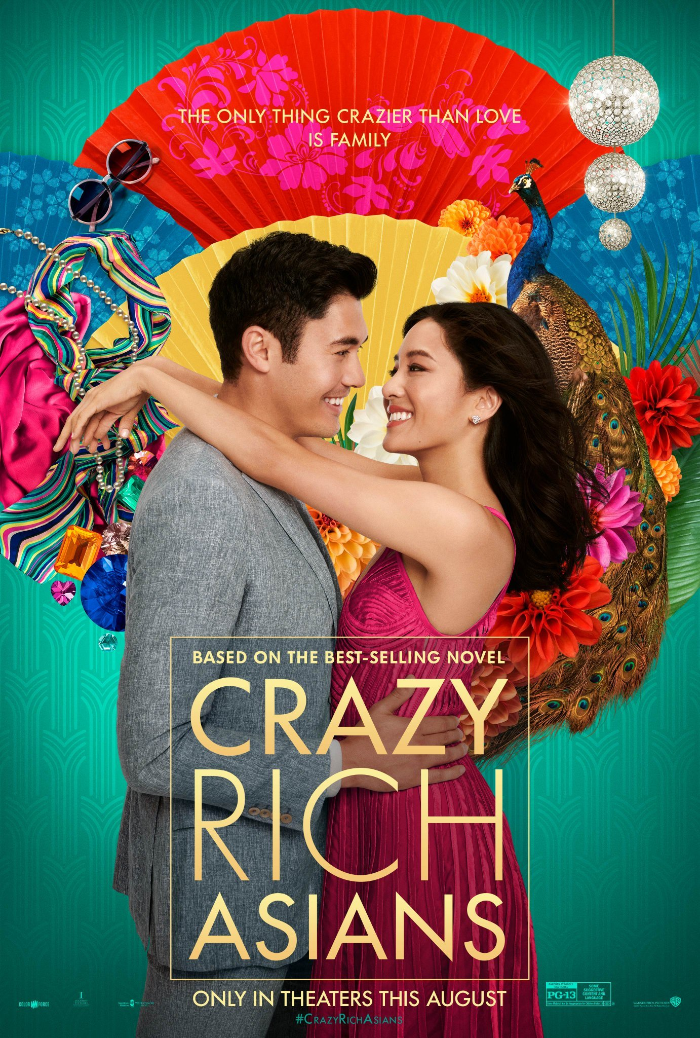 Image result for crazy rich asians movie poster