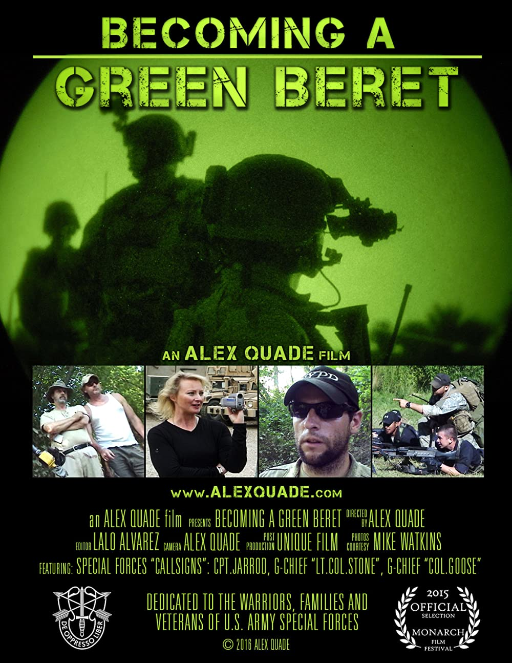 Becoming a Green Beret 2016