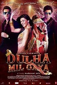 Fardeen Khan, Shah Rukh Khan, and Sushmita Sen in Dulha Mil Gaya (2010)
