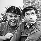 Bob Denver and Alan Hale Jr. in Gilligan's Island (1964)