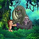 George Carlin and Harrison Chad in Tarzan II (2005)