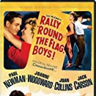 Paul Newman, Joan Collins, and Joanne Woodward in Rally 'Round the Flag, Boys! (1958)