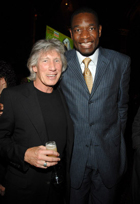 Roger Waters and Dikembe Mutombo