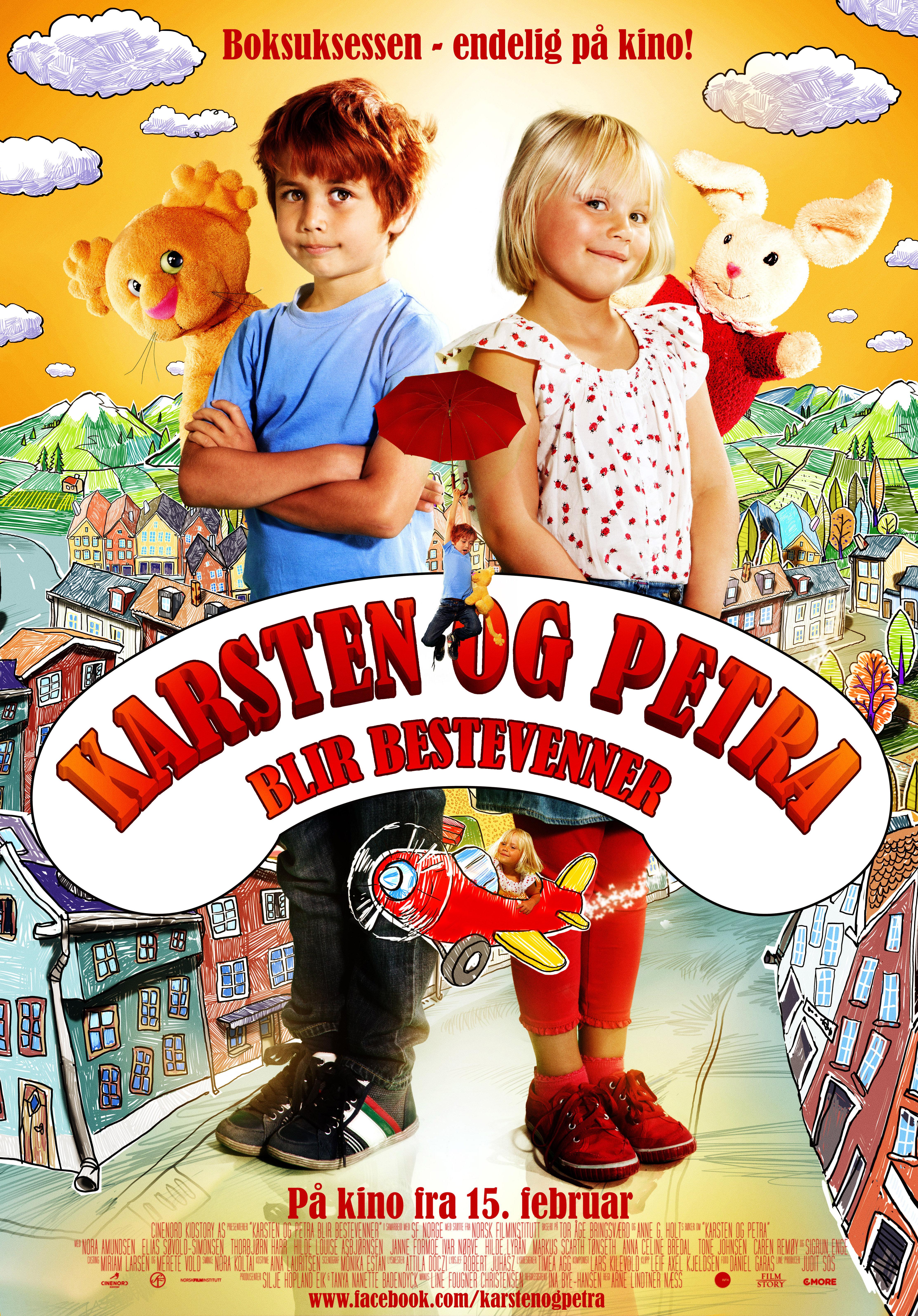 Karsten og Petra blir bestevenner (2013)