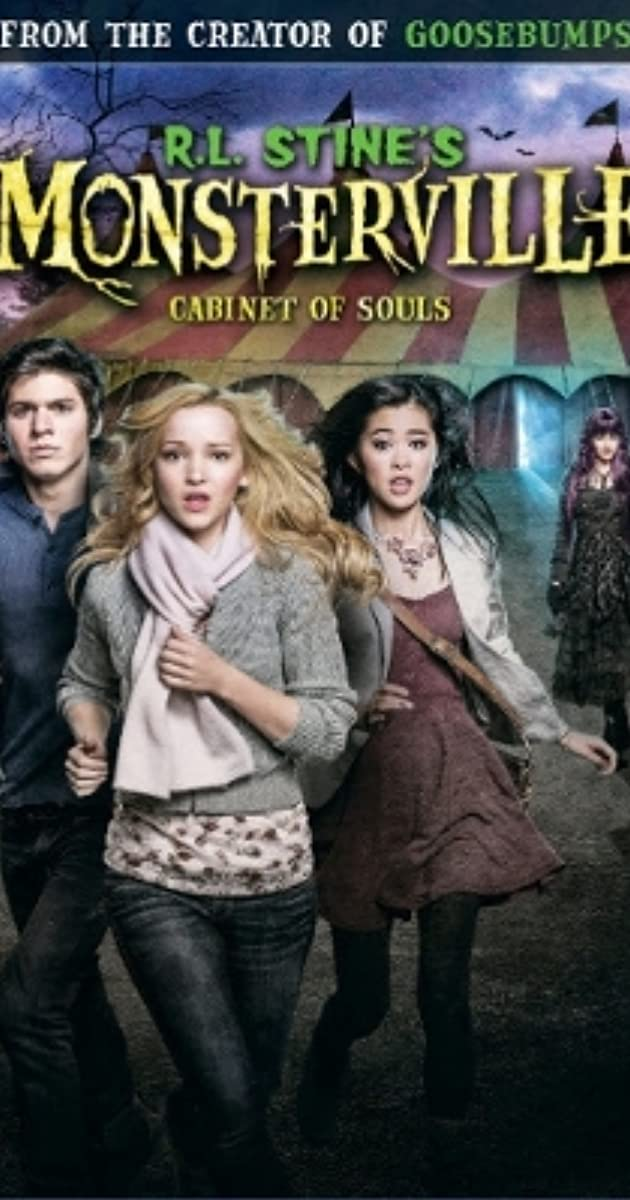 Subtitle of R.L. Stine's Monsterville: The Cabinet of Souls