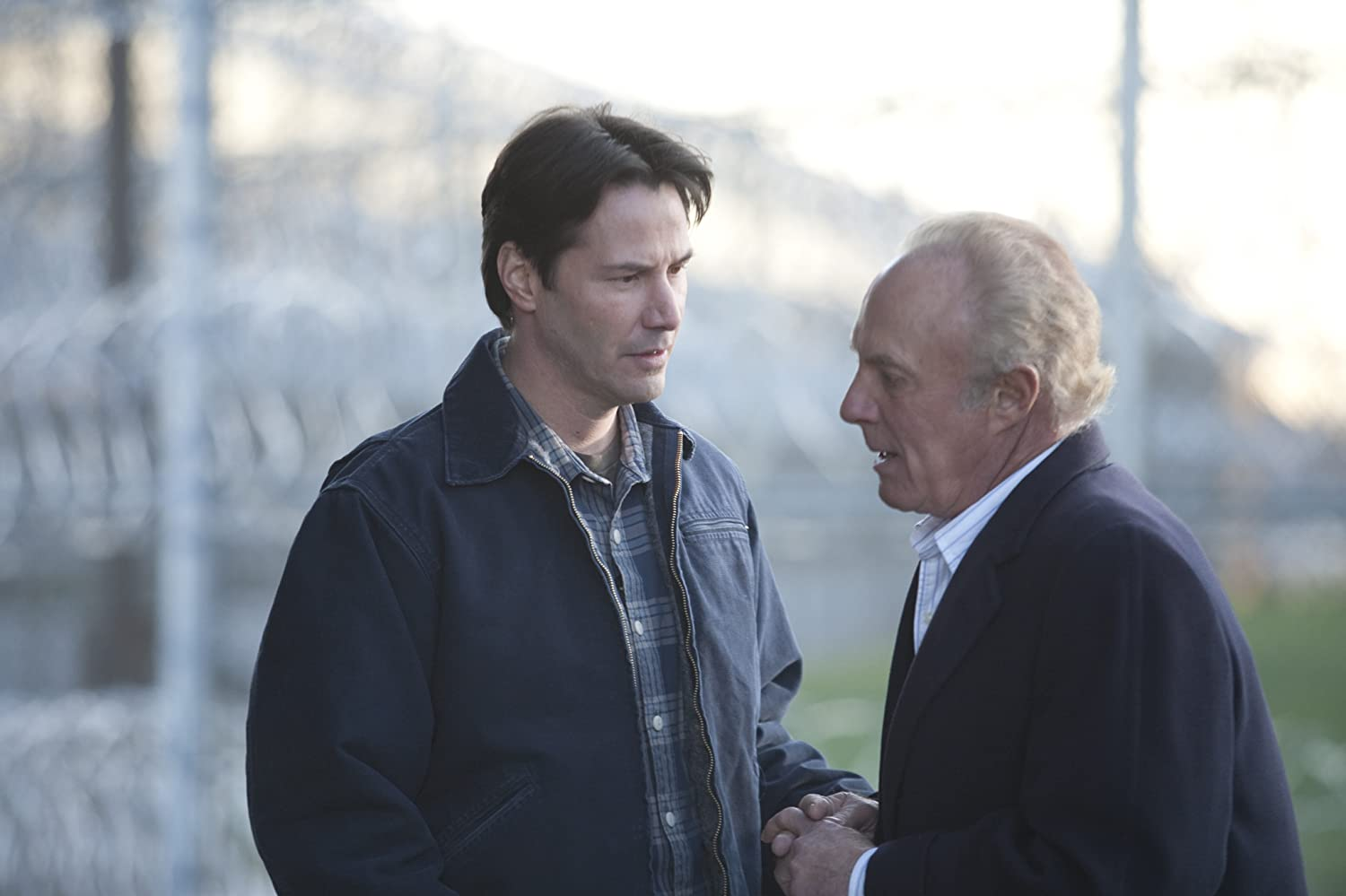 Keanu Reeves and James Caan in Henry's Crime (2010)