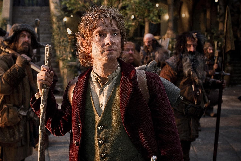 Jed Brophy, Martin Freeman, William Kircher, Graham McTavish, James Nesbitt, and Stephen Hunter in The Hobbit: An Unexpected Journey (2012)